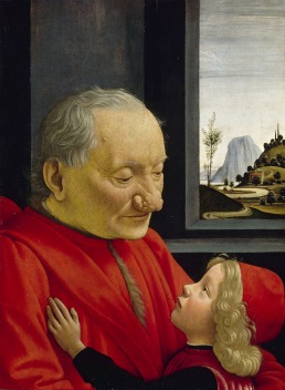 Portrait of an Old Man and a Boy by Domenico Ghirlandaio