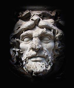 Sculpture of Zeus