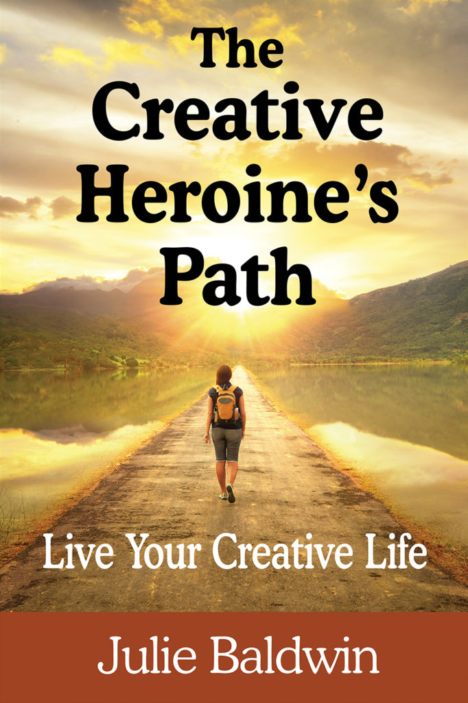 Front cover of the book, The Creative Heroine's Path.